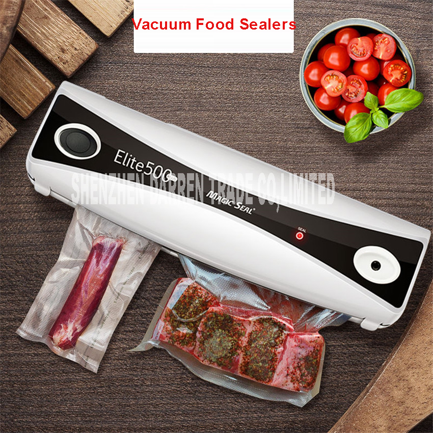 Full automatic vacuum sealing machine 220V Food Vacuum Sealer Machine Vacuum Packing Machine Film Container Food Sealer Saver mini vacuum sealer plastic bag film sealing impulse hand snack vacuum food sealer machine