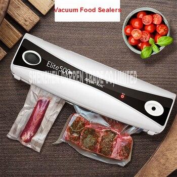 Full automatic vacuum sealing machine 220V Food Vacuum Sealer Machine Vacuum Packing Machine Film Container Food Sealer Saver