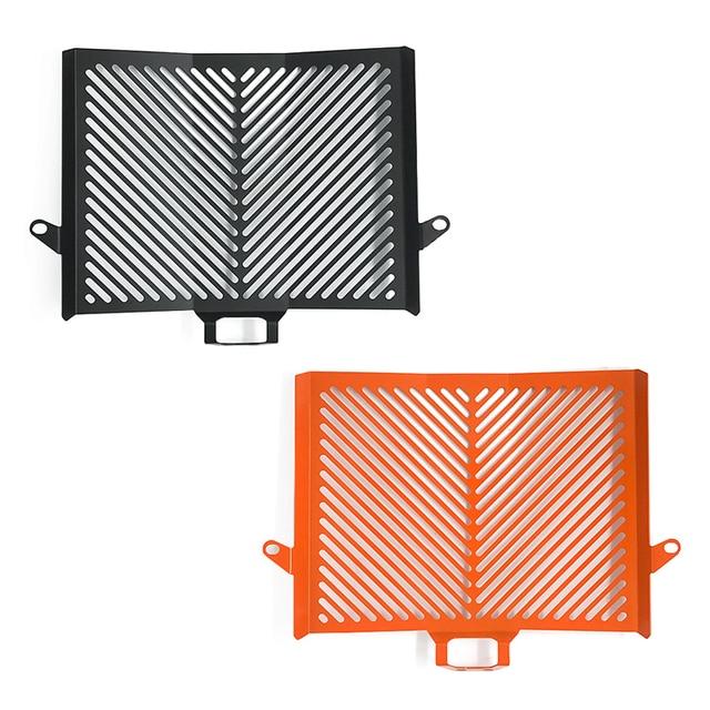 Black Orange Radiator Guard Grill Grille Cover Protector for 2013-2017 KTM 1050 1190 1290 ADV 2014 2015 2016