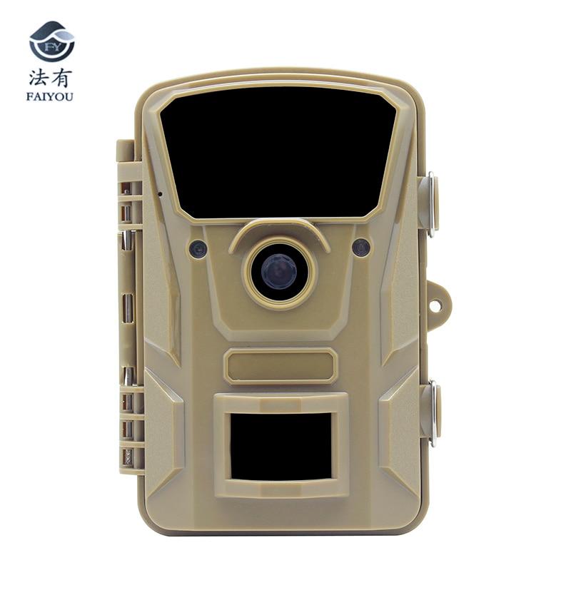 Caça à prova d' água Câmera de 5 Megapixel 1080 P HD de vídeo Visão Nocturna do IR Wildlife Trail Surveillance Camera