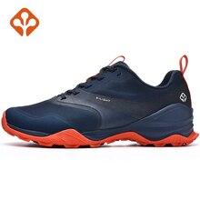 SALAMAN الرجال تنفس التخييم في الهواء الطلق شبكة رياضية حذاء للسير مسافات طويلة للذكور مقاوم للماء تسلق الجبال أحذية رياضية
