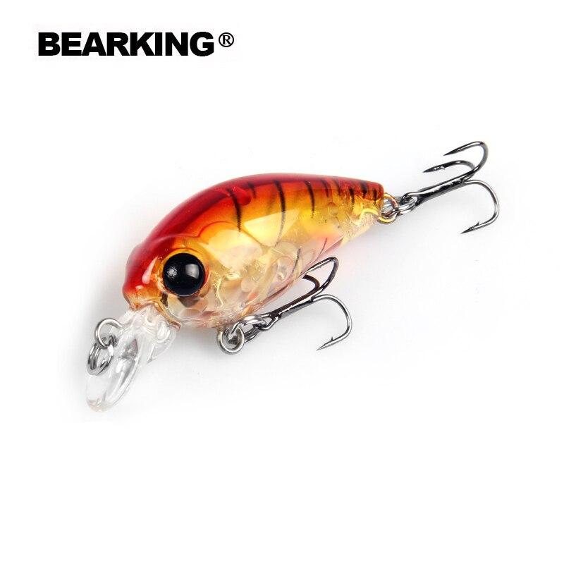 Retail 2017 good fishing lures minnow,quality professional baits 3.5cm/3.5g,bearking hot model crankbaits penceil bait popper
