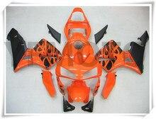 Motorcycle Orange Injection Molded Fairing KIT For H O N D A CBR600RR CBR 600RR CBR600 RR 2003-2004 ABS Plastic +3 Gift