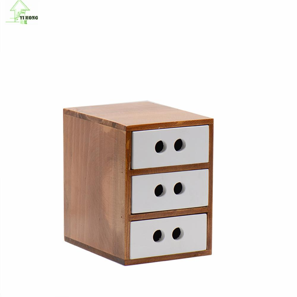 Online Get Cheap Wooden Box Cosmetic Drawer Makeup Organizer ...