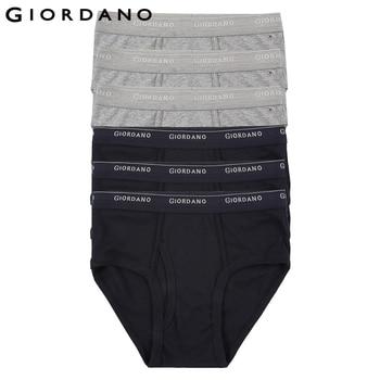 bebeac4de5f59 Giordano Men Underwear Mens Briefs 6pcs Solid Underwear Men Ropa Interior  Hombre Briefs Men Cotton Cueca Masculina Calzoncillos - Welcome