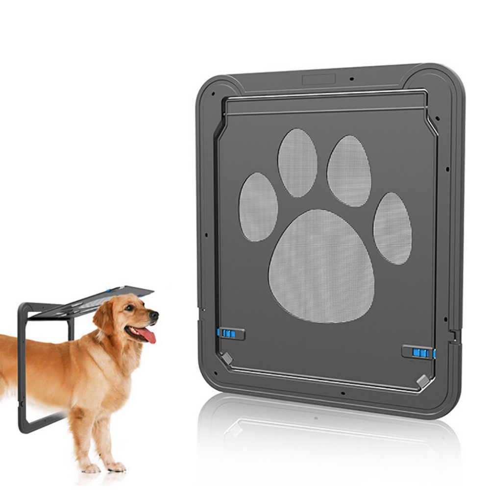 ПЭТ экран двери отпечаток лапы собаки шаблон кошка на дверь и окно собачка
