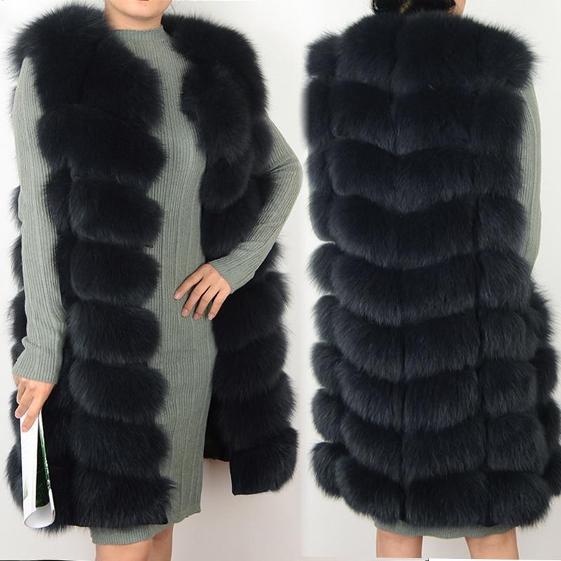 여성 코트 리얼 폭스 모피 조끼 천연 여우 모피 양복 조끼 따뜻한 겨울 코트 천연 모피 코트 예쁜 리얼 모피 코트 자켓-에서리얼 퍼부터 여성 의류 의  그룹 1