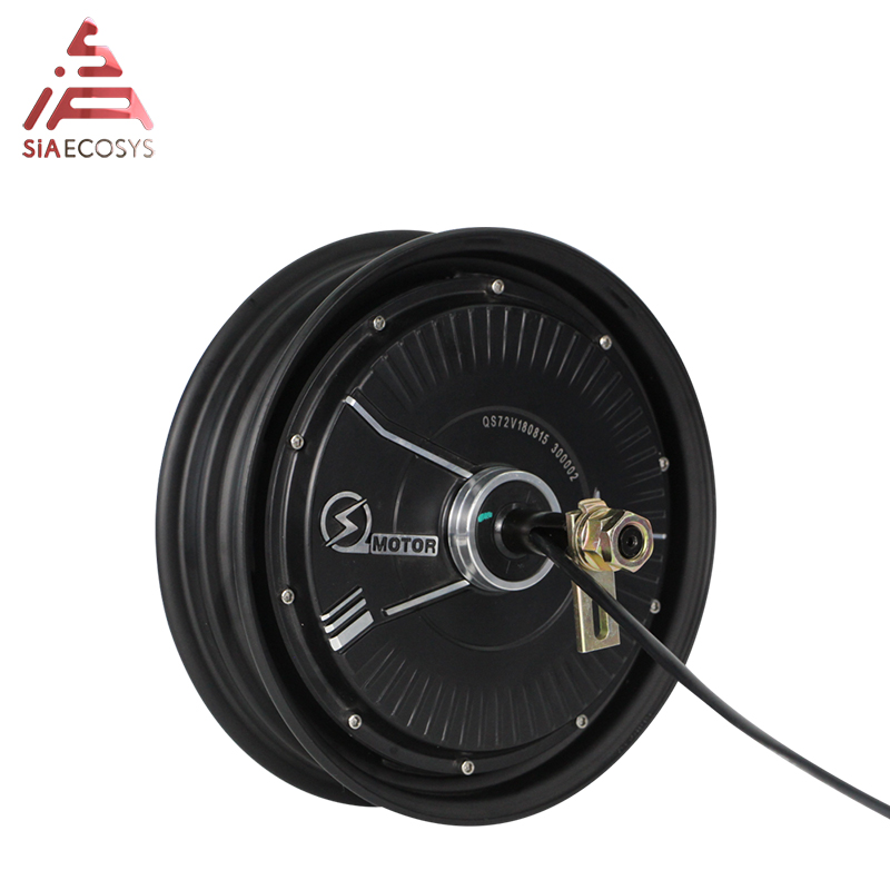 QS 10inch 800W 27H V1.12 48V 40KPH brushless dc electric scooter hub motor|Motors| |  - title=