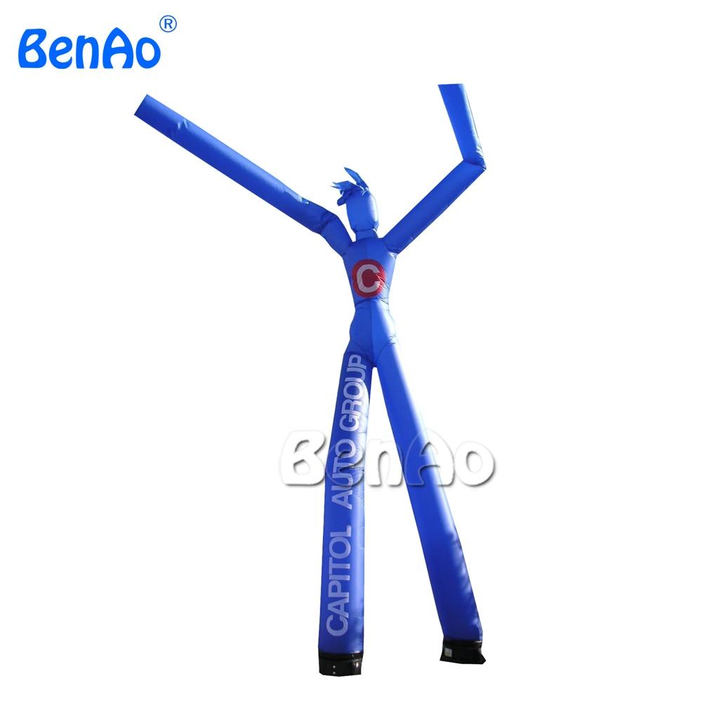 AD206 улыбка воздушный танцор/надувной Небесный человек/наружная реклама надувной танцующий человек, рекламные надувные трубки