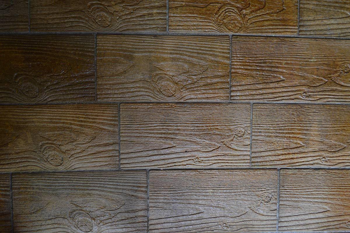 4 Pcs Plastic Concrete Stone Molds Bricks Pavers Tiles Garden Wood