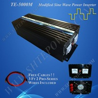 Инвертор 12 В 220 В 5000 Вт преобразователя от сети инвертор 12 В 230 В инвертор