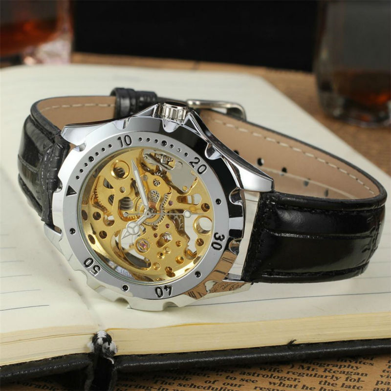FORSINING-Men-s-Watch-Vogue-Skeleton-Mechanical-Leather-Analog-Classic-Wristwatch-Color-Silver-FSG8090M3 (1)