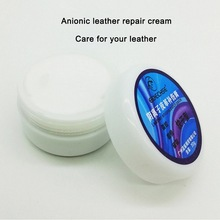 30ml Car Seat Leather Anionic Repair Cream with Sandpaper Plastic Scraper Sofa Coats Holes Scratch Tool