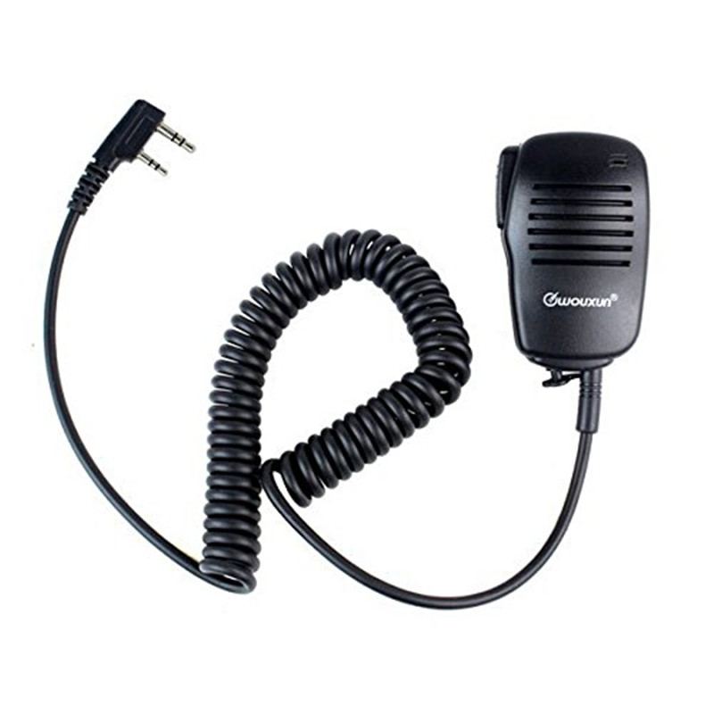 Wouxun Handheld mic Microphone Speaker MIC for KG-UVD1P KG-UV6D KG-UV8D KG-UV899