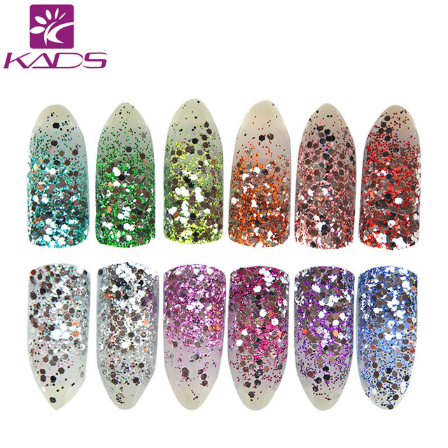NEW Arrival High Gloss Silver Glitter Dust Nail Powder.Nail Decoration Glitter Nail Glitter Powder for nail art tool