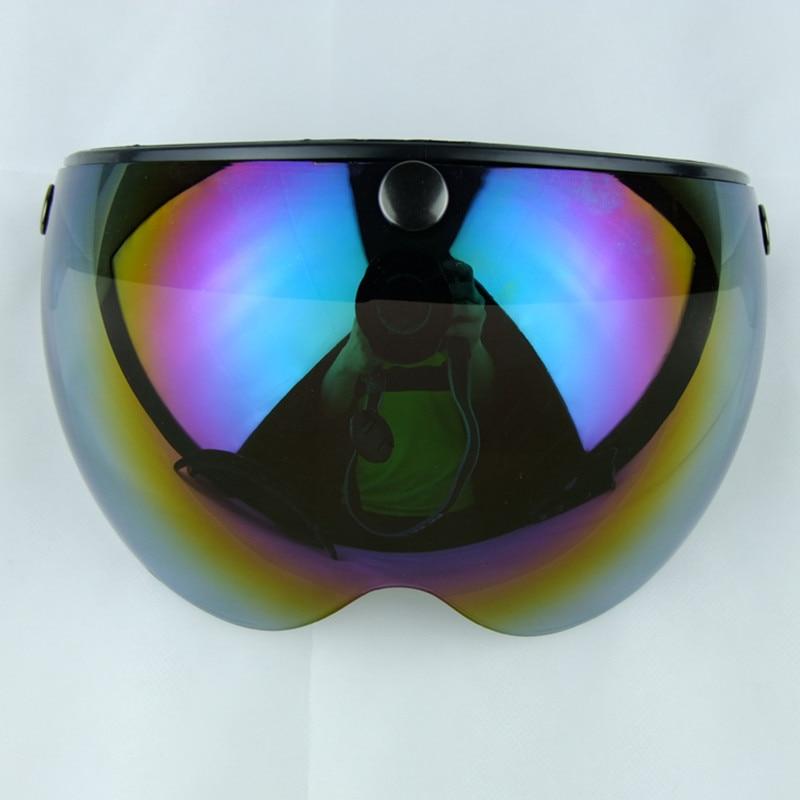 Маска для мотоциклетного шлема защитное ветровое стекло Солнцезащитный козырек очки замедление