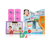 QIYAN NEW LIANG LI XUE REN TOU HONG 4 in1 whitening cream face skin care second generation 6pcs/set