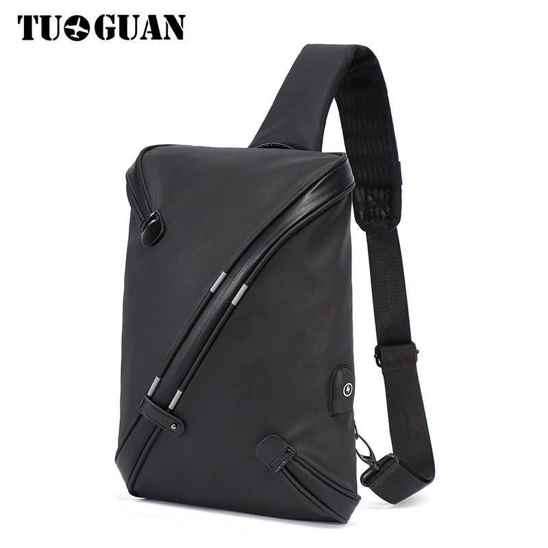TUGUAN Men Bag 2017 Fashion Mens Shoulder Bags High Quality Oxford Casual  Messenger Bag Business Men s 895829c33b50f