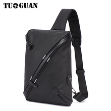 TUGUAN Men Bag 2017 Fashion Mens Shoulder Bags High Quality Oxford Casual Messenger Business Travel XB1712T