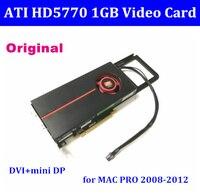 Оригинальная видеокарта для MacPro Apple ATI Radeon HD 5770 HD5770 1 ГБ для Mac Pro 2008 2012/3,1 5,1 с кабелем 6pin