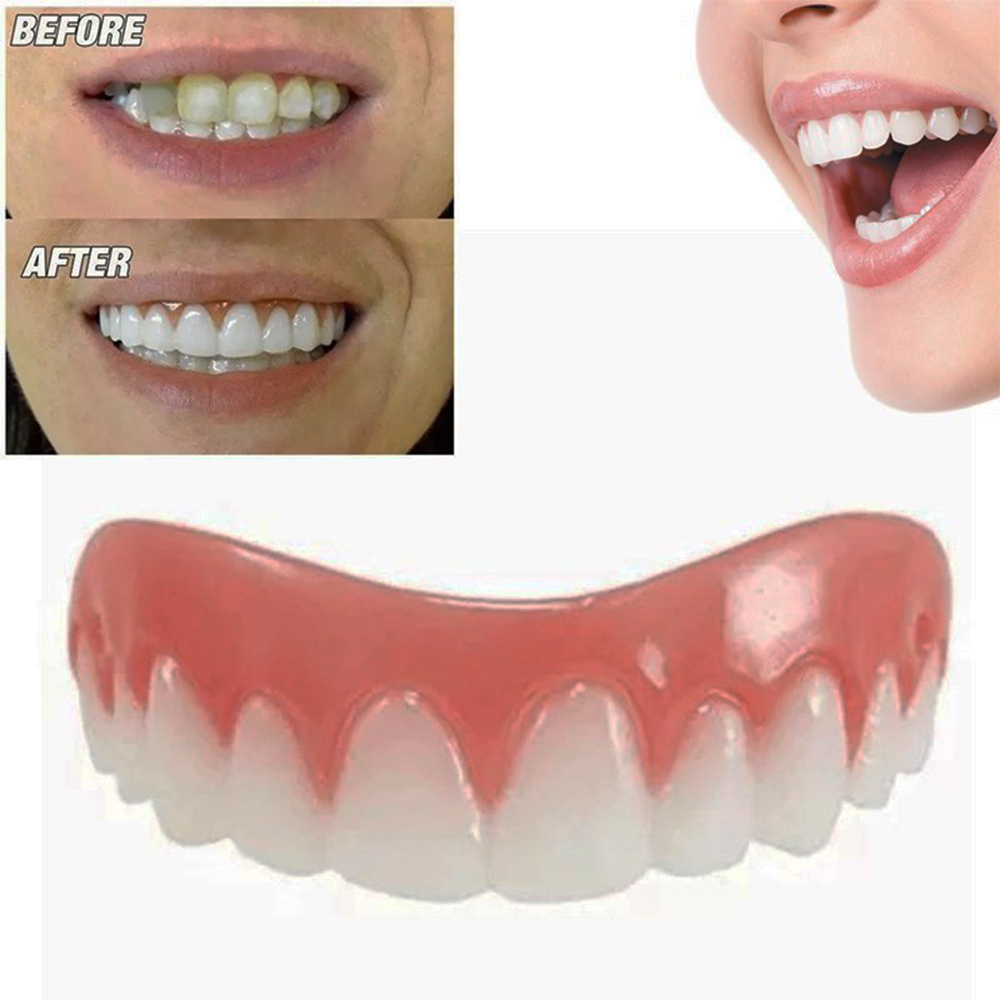Odorless Removable Resuable Perfect  Veneer Silicone Teeth Denture Paste