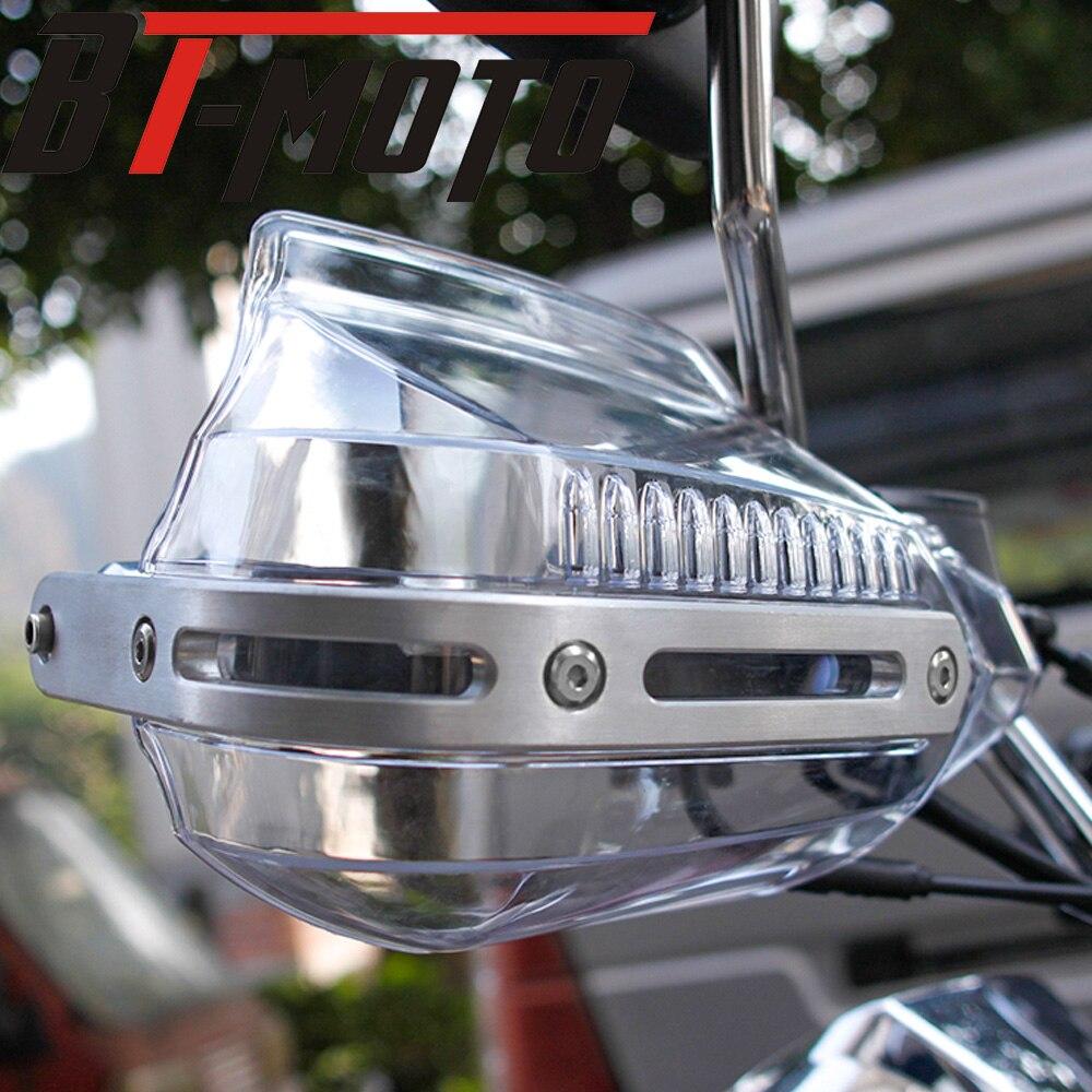 Lidar com Bar Handguard Protetor de Mão Protetor de Vento Escudo Protetor de Freio da Embreagem para 2016-2018 BMW G310GS G310R G 310 R