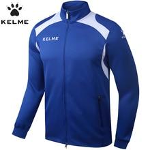 KELME Men's Training Jackets Long Sleeve Soccer Jersey Comfort Fitness & Yoga Sports Jackets Football Jersey KMC160001