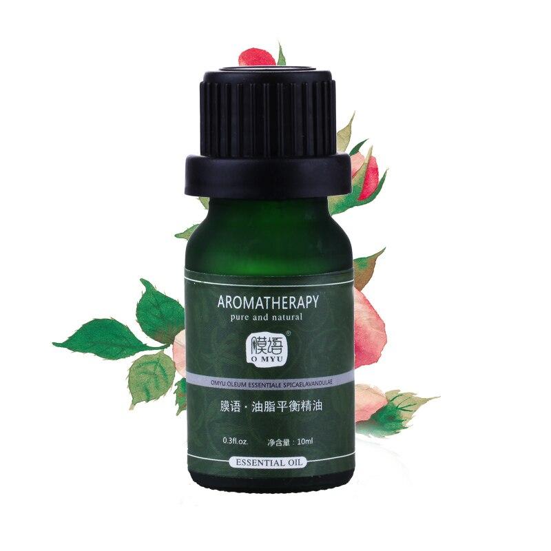 Grease balancing oil moisturizing astringe pores purification 10ml beauty skin care make up grease