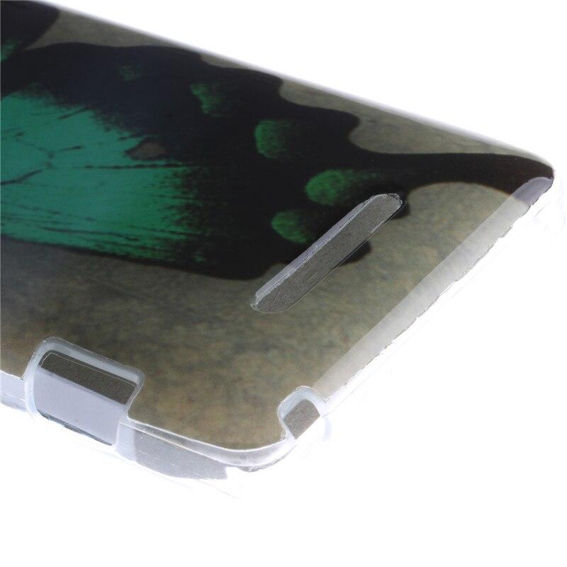 Para sony xperia m dual c1905 c1904 c2004 c2005 case soft de silicona Pintado Ac