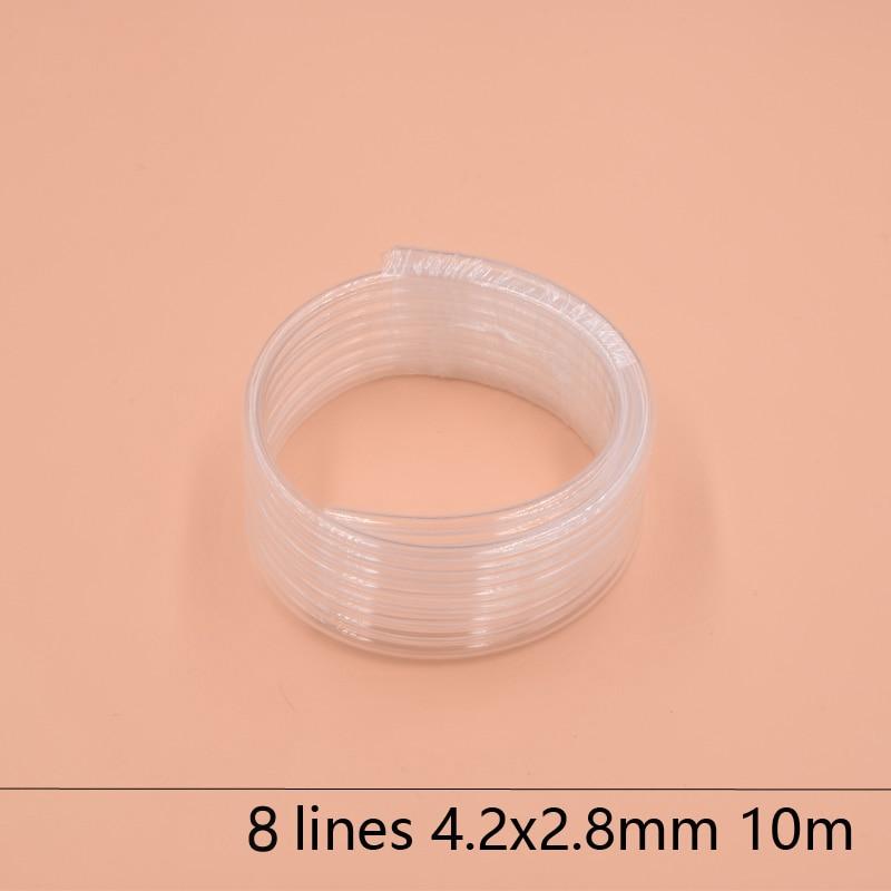 8 Linhas de tubo de tinta de impressora solvente eco 4.2X2.8 MM para Epson Allwin Mimaki Roland Mutoh tinta mangueira 10 M/lote Grande sistema de tinta de abastecimento de tinta