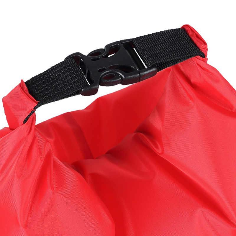 1.2L водонепроницаемый аптечка аварийный сухой мешок для путешествий кемпинга красный Каякинг каноэ рафтинг аксессуары