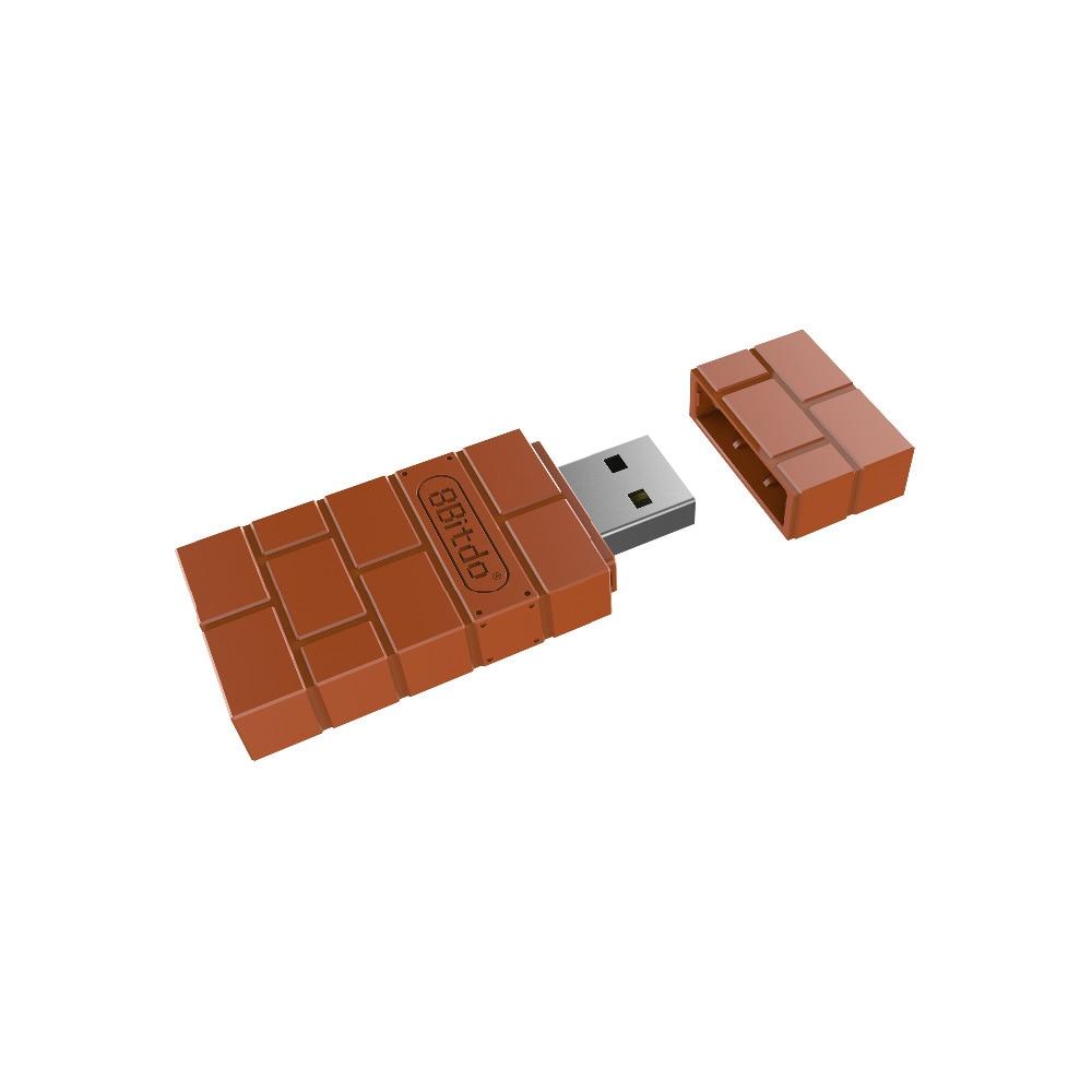 Neue 8 Bitdo USB Wireless Bluetooth Adapter Gamepad Receiver für Windows Mac Nintend Schalter Xbox einem Controller nintend schalter con
