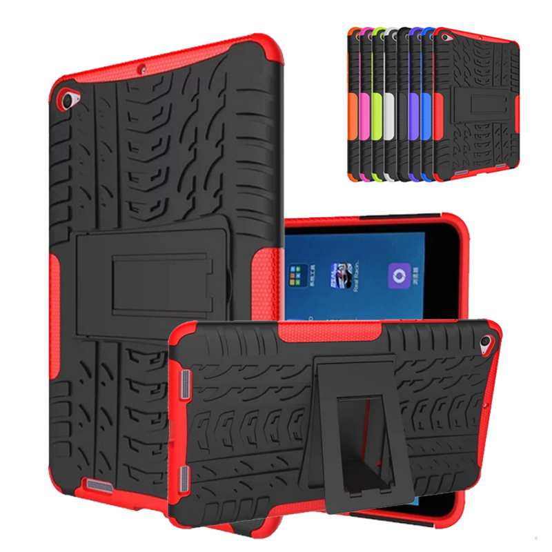New Hybrid For Xiaomi Mipad 2 Cover Shockproof Bracket Stand PC+Silicon Funda Case for Xiaomi Mi Pad 2 Protective Cover 7.9''