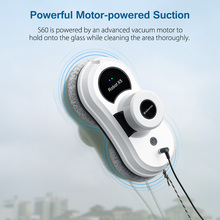 Alfawise S60 Window Cleaning Robot High Suction Window Cleaner Robot Anti-falling Remote Control Vacuum Cleaner Window Robot