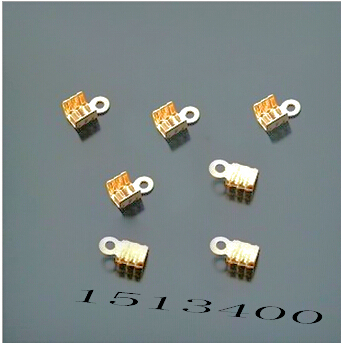 4mm*7mm Hot- 400pcs Plated Crimps Beads For Necklace Tip Findings ** Clip Tube Cap Cord Bronze Moderate Cost