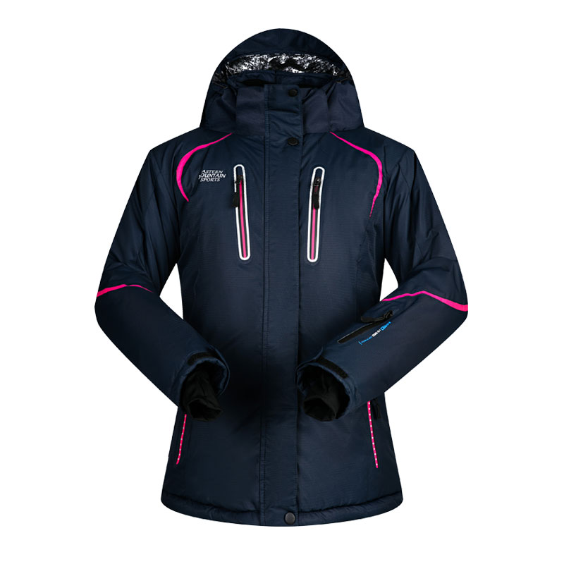 2019 MUTUSNOW Women Ski Jacket Snowboard Jacket Skiing Coat Windproof Waterproof Thicken Thermal Outdoor Sport Wear Female Coat