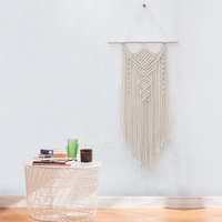Handmade Macrame Wall Hanging Woven Wall Art Macrame Tapestry Boho Wall Decor Textile Wall Hanging Nordic Decoration Home