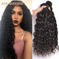 "Malaysian Virgin Hair 4 Bundles Natural Wave Malaysian Hair Weave Bundles 6""-28"" Malaysian Curly Hair Remy Human Hair"