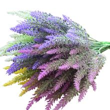Simulated Lavender Healthy Environmental Protection Durable Pure Handicraft Home Furnishing Decoration Simulated Lavender