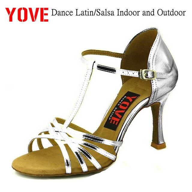 0ee2e48f YOVE estilo w1610-23 zapatos de baile zapatos Bachata/Salsa de interior y al
