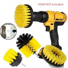 4Pcs5Pcs Electric Cleaning Brush Portable Handheld Drill Floor Household Tool Accessories