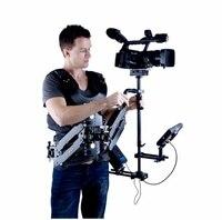 WONDLAN Leopard 4 Video Camera Steadycam Steadicamu Carbon fiber Stabilizator + Kamizelka + Arm + Case Bezpłatne + 7