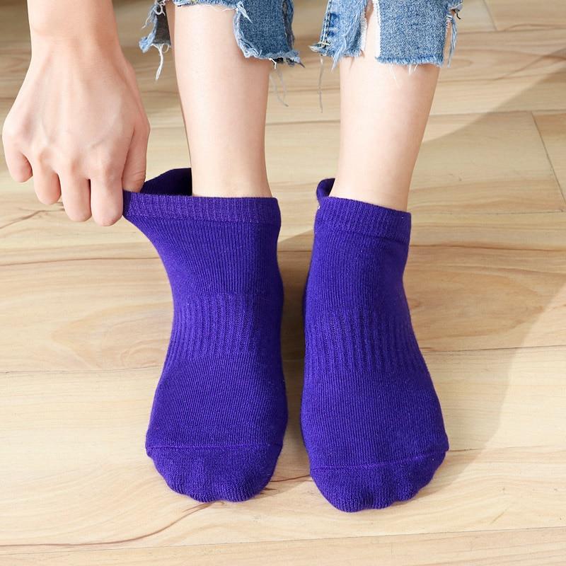 High Quality Women's Yoga Socks Fitness Pilates Socks Non-Skid  Dance Socks Breathable Cotton Socks Towel Bottom Drop Shipping