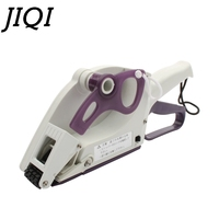 JIQI Semi automatic Round Bottle Adhesive Sticker Square Code Manual Packing Labeling Machine Handle pricing tag Bidder Labeller