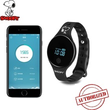 Snoopy official neutral Smart Watch touchable oled screen Sports Fitness sleep monitoring GPS trajectory wristband IP65 snw836ec