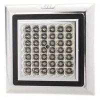 10x) 42 LED Brillant Blanc Voiture Auto Plafond D me Interieur Light Lampe DC 12V 5W