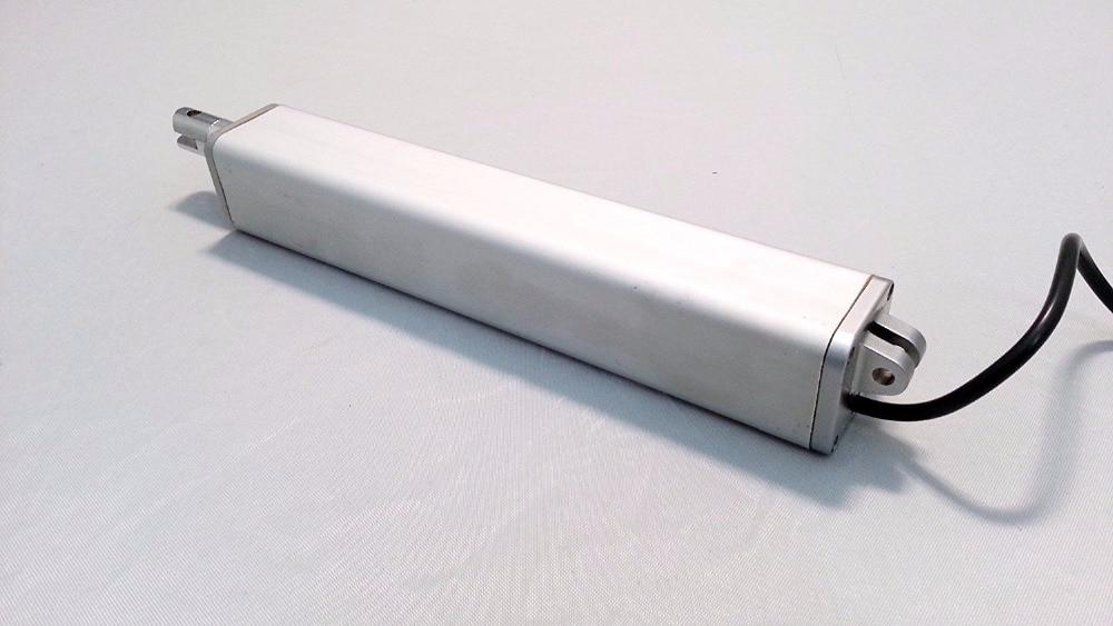 Совик 6 дюймов 150 мм ход линейный привод 12 В DC 200N Max лифт в линии Дизайн путешествия Скорость 45 мм/сек. включают монтажные кронштейны