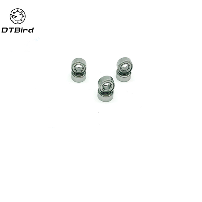 10 PCS free shipping thin wall deep groove ball bearing 684ZZ 4*9*4 mm 684 zz цена