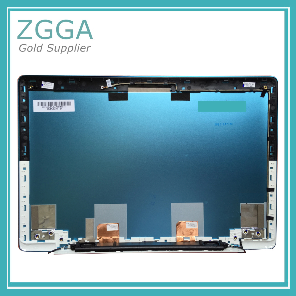 Genuine NEW Laptop Lcd Rear Lid For Lenovo IdeaPad U310 Back Cover Top Case with Antenna 3CLZ7LCLV10 Touch NO Touch new original for lenovo ideapad u330p u330 u330t no touch lcd rear lid back cover grey lz5 90203126 3clz5lclv00