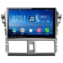 """ChoGath 10.2 """"calowy Quad Core PAMIĘĆ RAM 1 GB Android 6.1 Samochodów Odtwarzacz Radio Nawigacja GPS dla Toyota Yaris Vios 2014-2016 z mapy"""